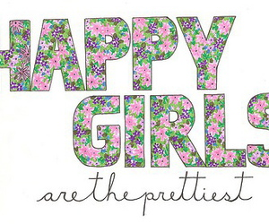 girl, happy, and pretty image