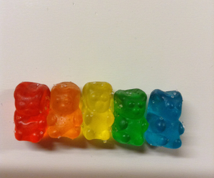 candy, food, and gummy bears image
