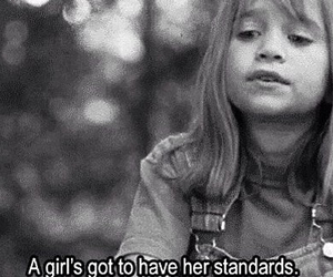 girl, quotes, and standards image