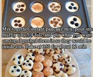 food, pancakes, and diy image