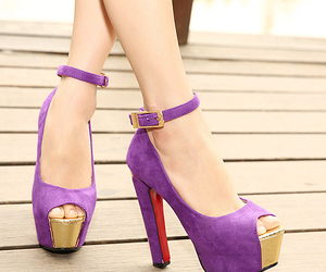 shoes and high heels pumps image