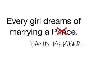 bands, dreams, and girl image