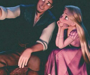 love, tangled, and disney image