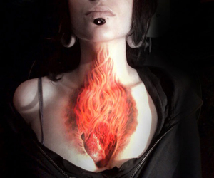 tattoo and fire image