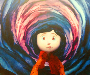 button, coraline, and creepy image