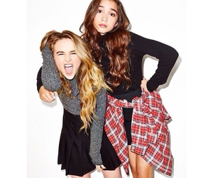 rowan blanchard, sabrina carpenter, and bff image