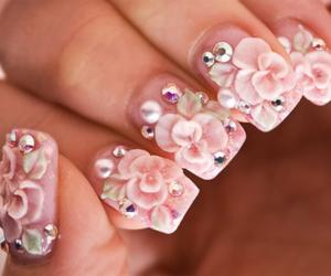 art, girly, and nail image