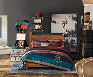 bedroom, snowboard, and Burton image