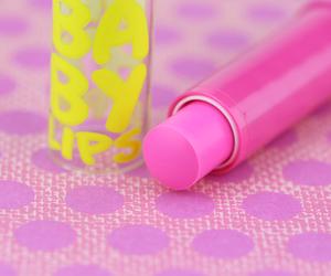 pink, baby lips, and lips image