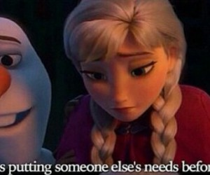 frozen, best scene, and best saying image