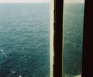 ocean, sea, and window image