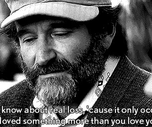 love, quote, and robin williams image