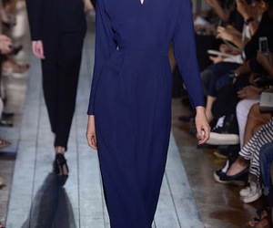 blue dress, style, and model image