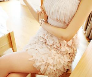 bracelet, dress, and fashion image