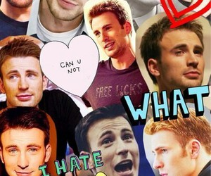 chris evans, Collage, and Hot image