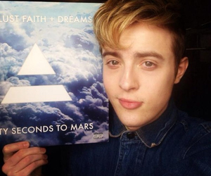 30 seconds to mars, album, and jedward image