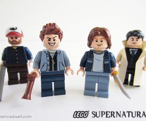 supernatural and lego image
