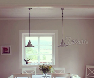 dining room, inspiration, and window image