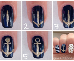 nails, anchor, and tutorial image