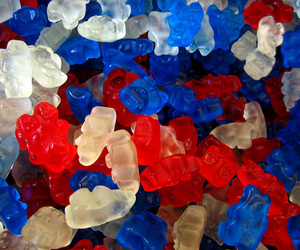 candy, blue, and red image