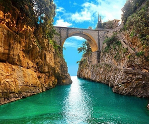 italy, summer, and water image