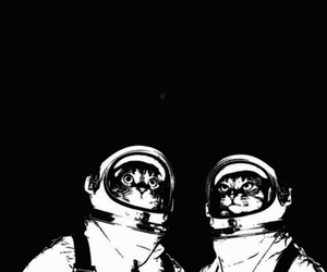 music, rave, and spaceman image