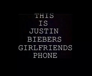 girlfriend, justin, and phone image