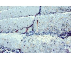 beach, stone steps, and black sea image