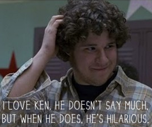 freaks and geeks, hilarious, and seth rogen image