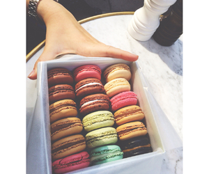 friend, laduree, and macarons image