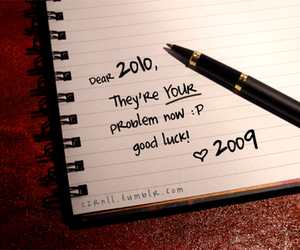 2010, 2009, and new year image