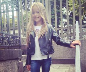 blonde, model, and kristina pimenova image