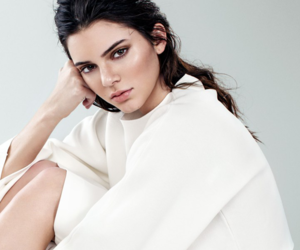 kendall jenner, model, and white image