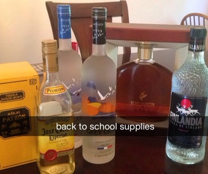 school, alcohol, and funny image