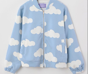 clouds, fashion, and cute image