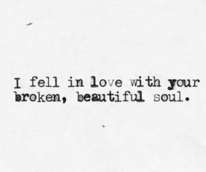 love, soul, and broken image