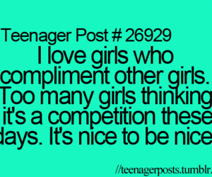 girl, nice, and teenager post image