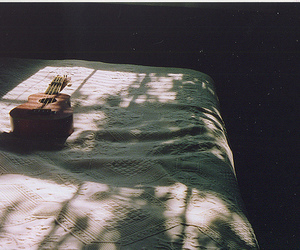 bed, uke, and film image