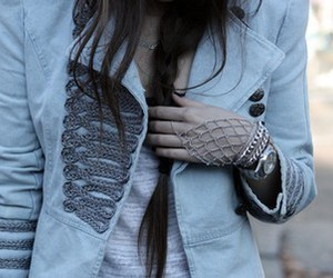 bracelets, braid, and girl image