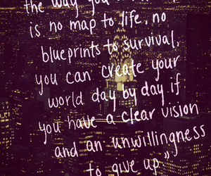 quote, life, and vision image