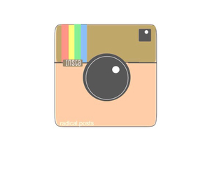 overlay and instagram image