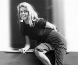 1956, black and white, and brigitte bardot image