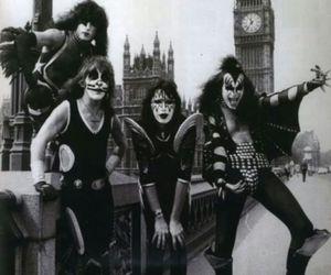 band, kiss, and london image