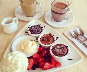 food, breakfast, and chocolate image