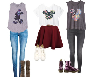cool, fashion, and mickey mouse image