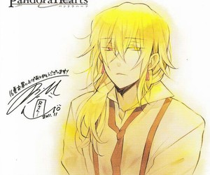 manga, yellow, and pandora hearts image