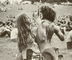 hippie, woodstock, and photography image