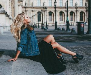 fashion, jacket, and shoes image