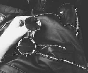 grunge, sunglasses, and black image