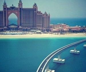 Dubai, sea, and beach image